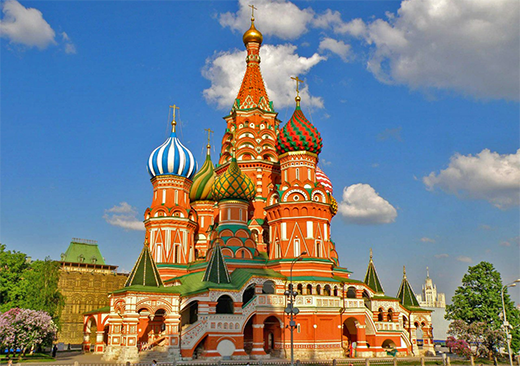St Basil Cathedral Blessed Moscow Tour