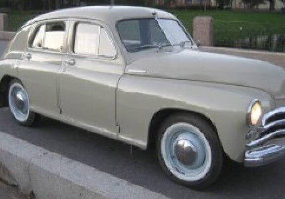 Legendary Soviet Classic Car Pobeda - Back to USSR