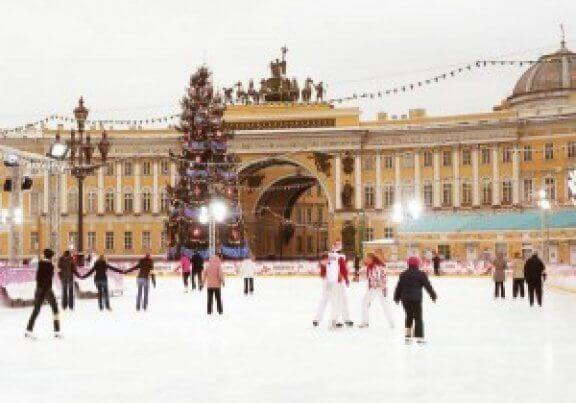 New Year Holiday in Russia - Christmas in St Petersburg