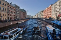 Boat Tour St. Petersburg Canals