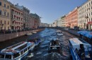 Boat Tour Rivers and Canals of St Petersburg