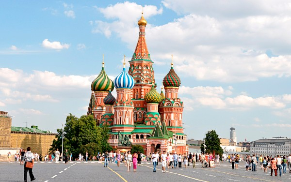 Moscow Red Square and St Basil Cathedral Walking Guided Tour