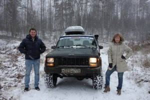 Russian Jeep Riding