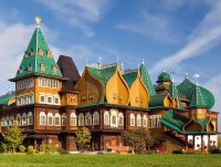 The Wooden Palace of Tsar Alexei Mikhailovich in Kolomenskoye