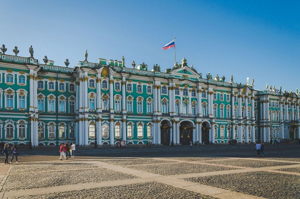 Winterpalast in St. Petersburg